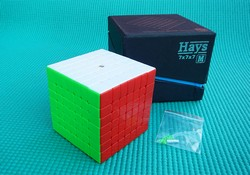 Produkt: Kostka 7x7x7 YuXin Hays Magnetic 6 COLORS