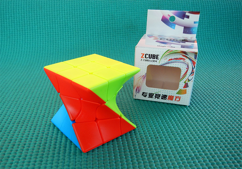 Produkt: Kostka 3x3x3 Z-Cube Twisted Cube 6 COLORS